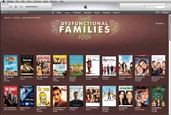 iTunes Store - Movie Comedy - Dysfunctional Families category